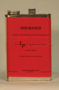 Insurance - Liquid Stop Leak - 1 gal. Can
